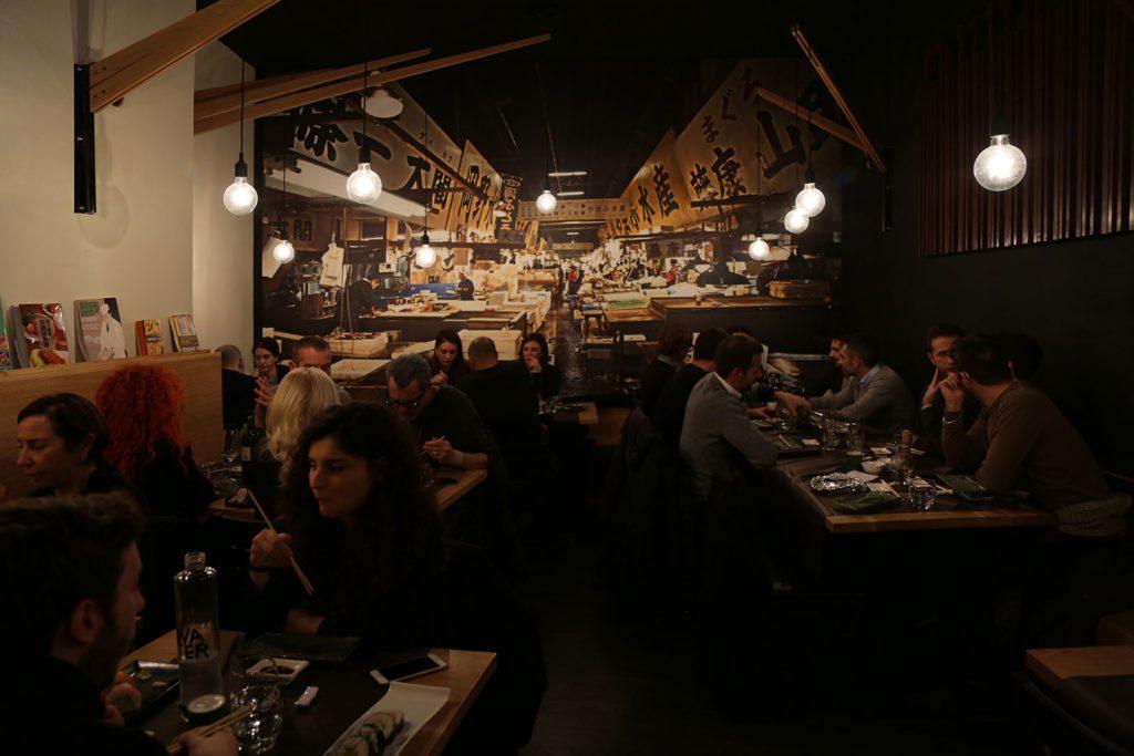 Interni Sakana Sushi Roma